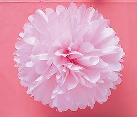 bolas de papel de seda para decorao