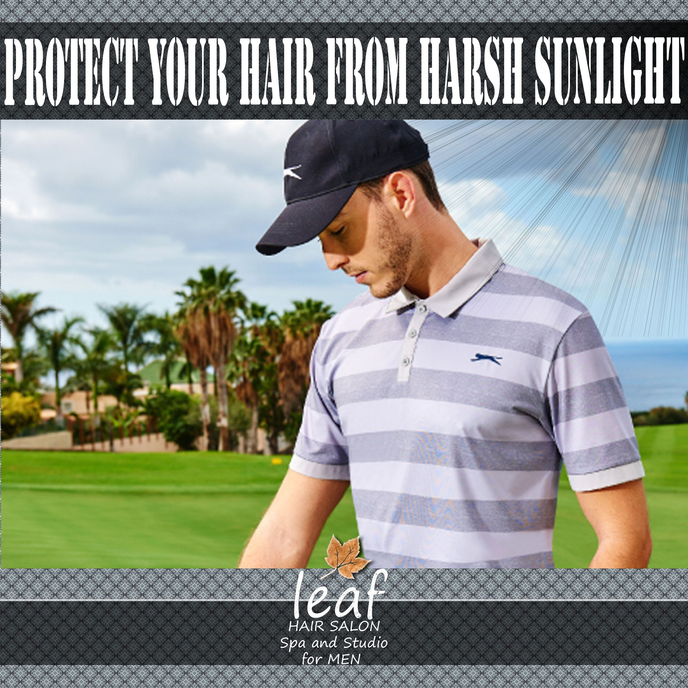 Take care of your hair. Any hair problem do us a visit so