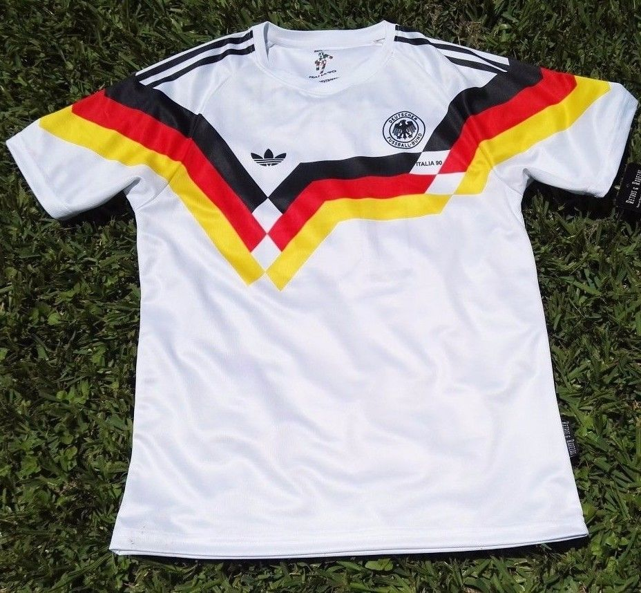 Camisa Vintage Germany   Alemania 90  Retro Jersey (Men) ee09c8ff09049