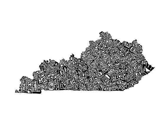 Kentucky typography map art unframed print customizable personalized on kentucky zipcodes, kentucky tennessee airports, print map of kentucky counties, kentucky state capitol map, kentucky county map ky, kentucky county seat map, blank map of kentucky counties, kentucky state map detailed, indiana state map by counties, midwest state maps with counties, kentucky county map of counties, map of northern kentucky counties, indiana and illinois counties, kentucky state fish, state of kentucky counties, kentucky county map pdf, large map of kentucky counties, kentucky state travel map, kentucky county maps by worksheets, kentucky state map of ky,