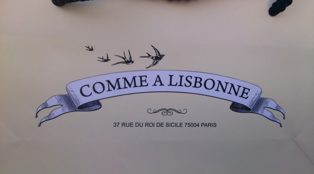 Paris Comme à Lisbonne