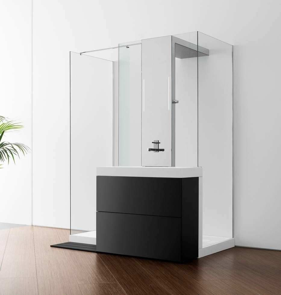 Shower cubicle SHOWERBASIN ROCA // idea-space-shower-cabinet ...