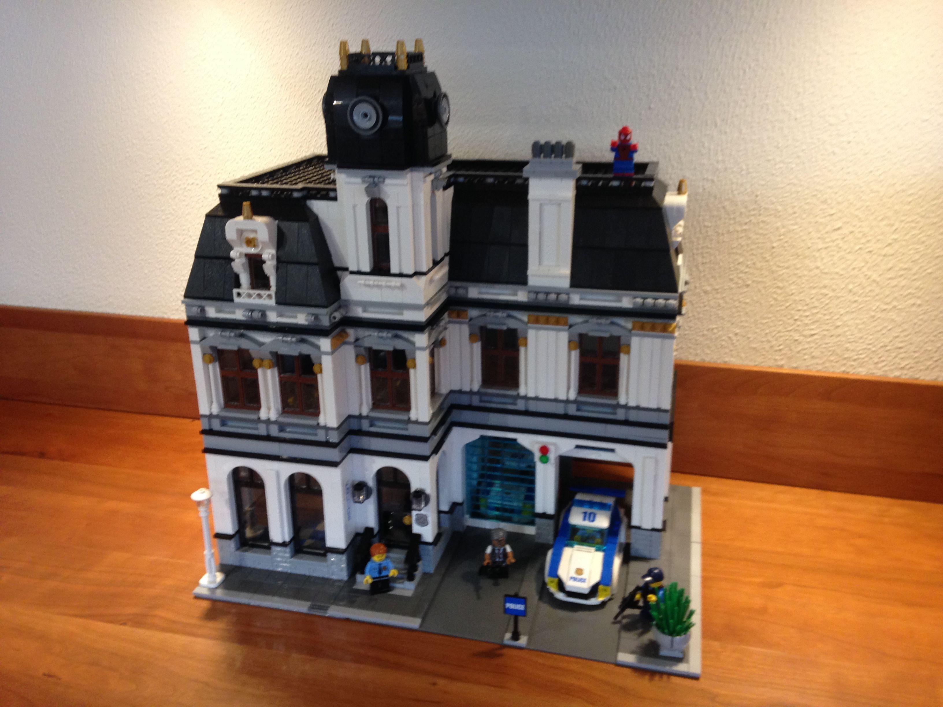 Lego Police Station Moc Modular I Pinterest Headquarters 7744 Creations Legos