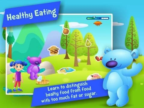 Nutrition and Healthy Eating ! Fun games to teach kids in Preschool and Kindergarten about balanced diet by i Learn With [iPad, iPhone] - a set of activities for teaching the kids about healthy food. Original Appysmarts score: 79/100 #diet #workout #fitness #weightloss #loseweight