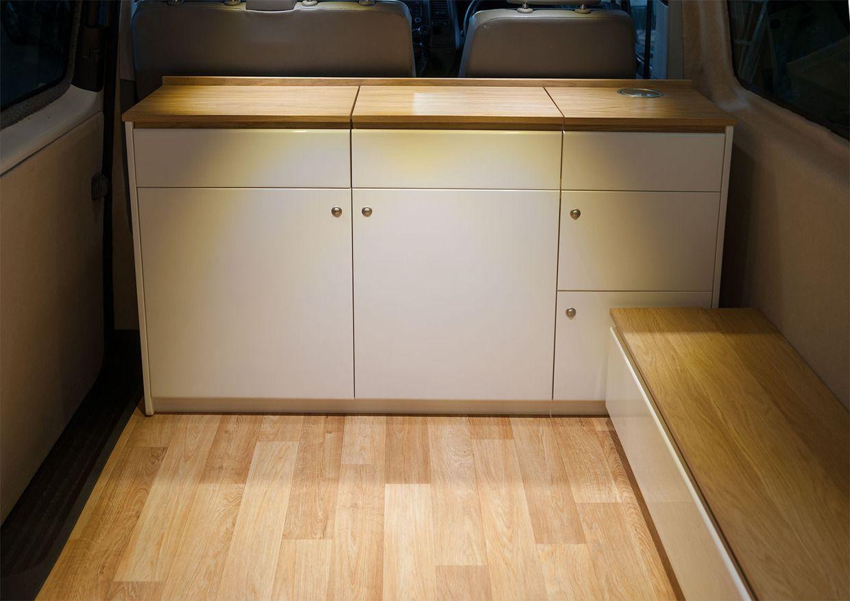 Vw T6 Kitchen Pod Popular Homebase Kitchens  Campervan interior