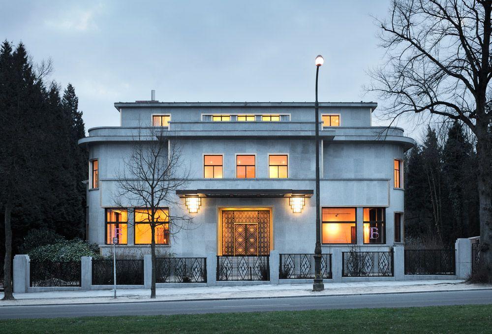 The Villa Empain in Belgium is an astonishingly beautiful