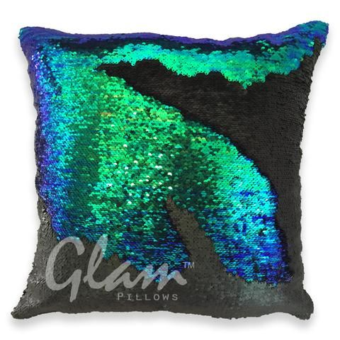 Custom Reversible Sequin Pillow Flip Sequin Pillow Hidden Message Pillow Mermaid Sequin Pillow St Flip Sequin Pillows Mermaid Pillow Sequin Sequin Pillow