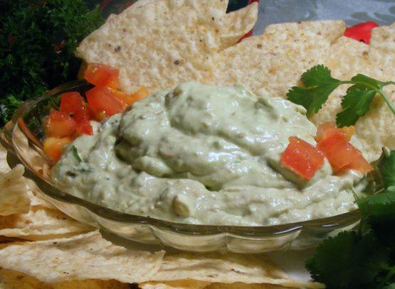 Guacamole Cheese Dip Recipe - Food.com