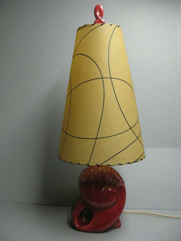 Haeger Pottery Table Lamp Ebay In 2020 Lamp Table Lamp Mid Century Modern Lighting