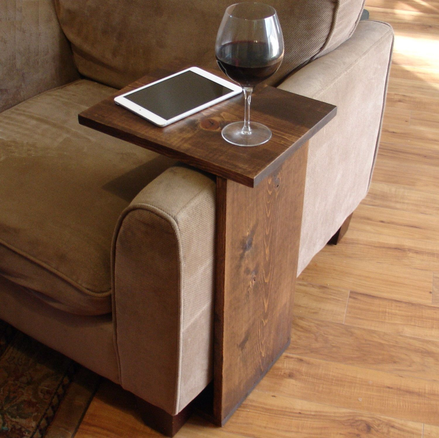 Sofa Chair Arm Rest Tray Table Stand  Furniture, Sofa end tables
