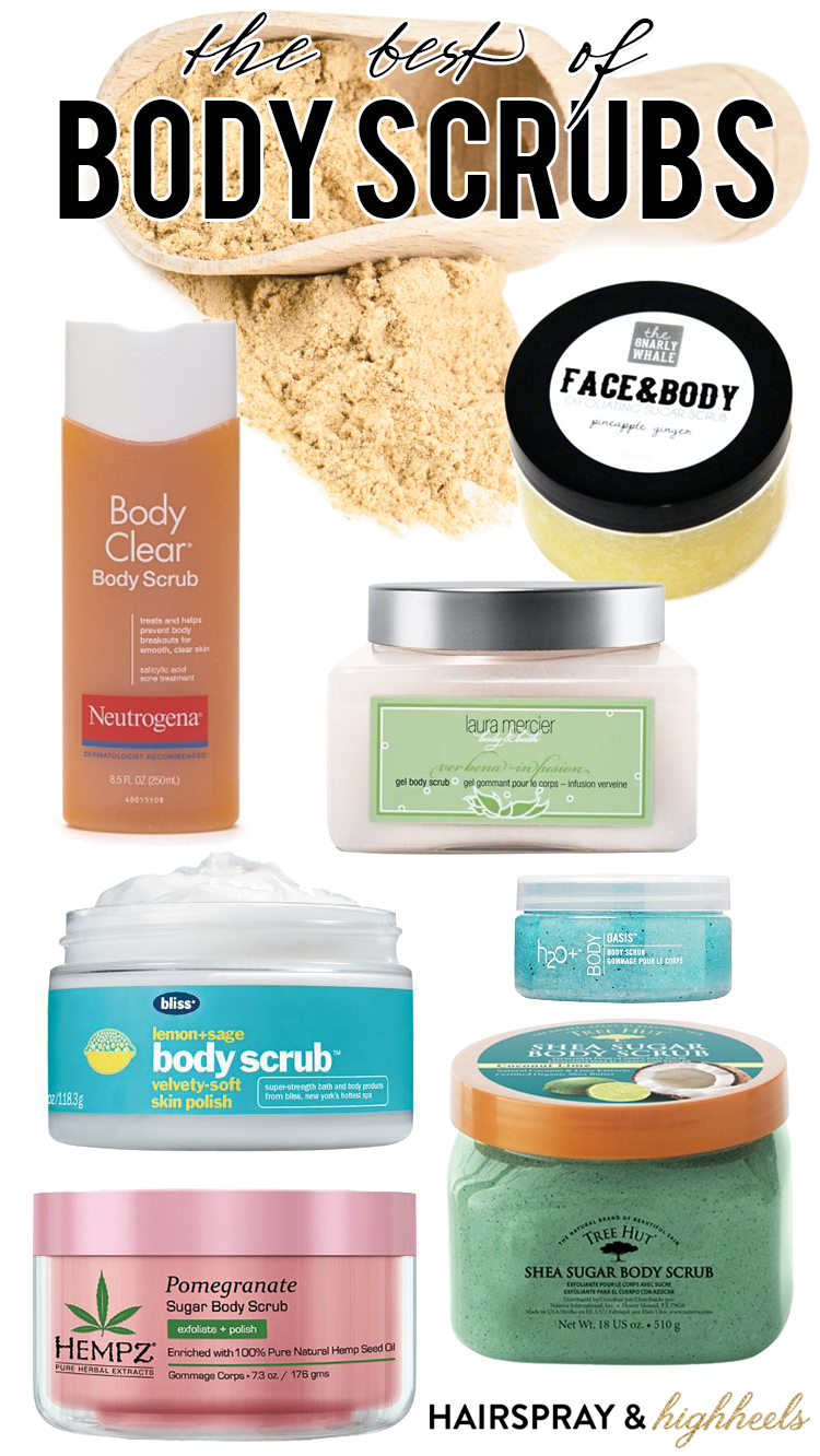 The Best Body Scrubs From A Pre Self Tan Treat To Getting Rid Of
