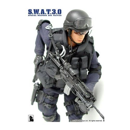 1//6 SWAT Combat Soldier Special Pliceman with Accessories 12/'/' Action Figure Set