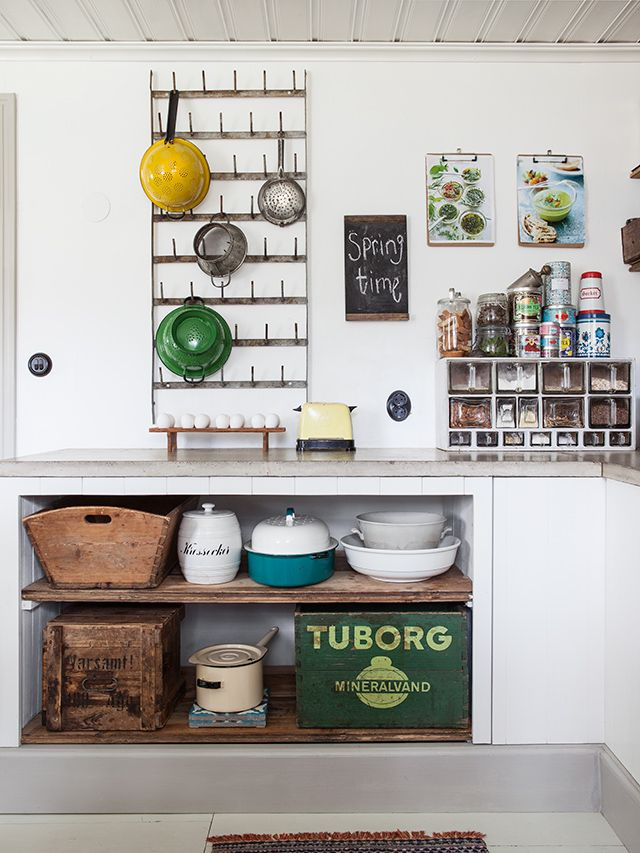 Una Cocina De Estilo Shabby Chic Decorar Cocinas Pequenas Cocina De Ensueno Estilo De Cocina