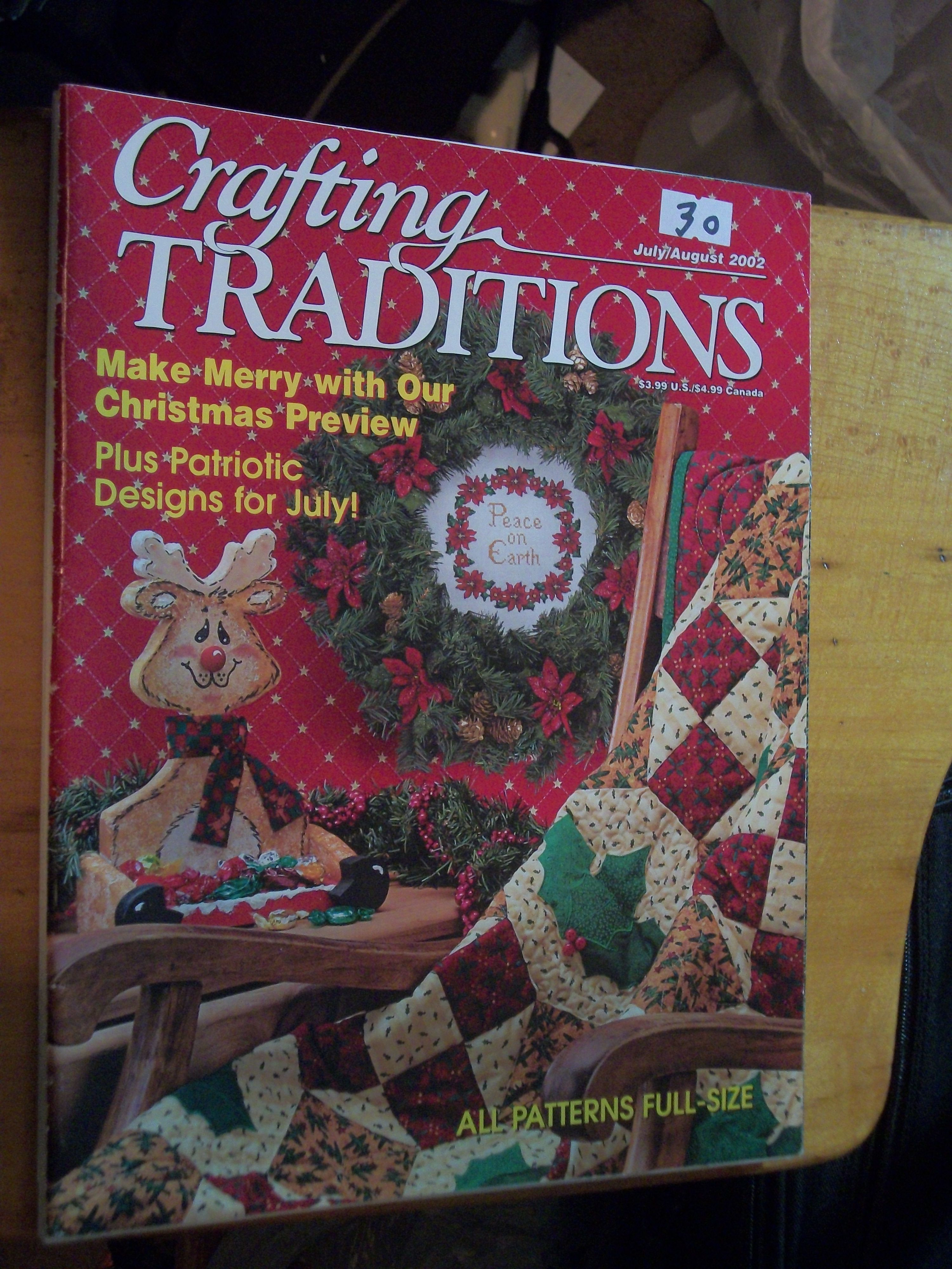 July August 2002 Book crafts, Canada christmas, Crafts to do