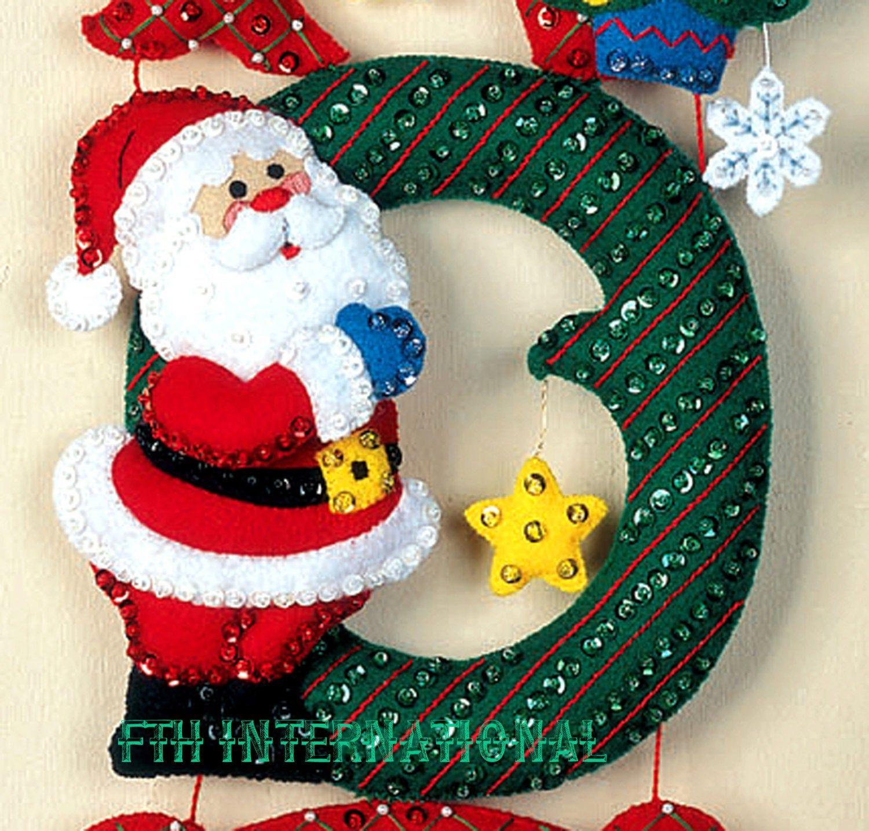 4 Muñeco De Nieve Colgantes Para Puertas kits de artesanía-Nuevo De Los Niños Navidad Arts /& Crafts