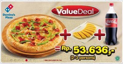 Daftar Harga Menu Domino Pizza Delivery Indonesia Juli 2014 Pizza Kelapa