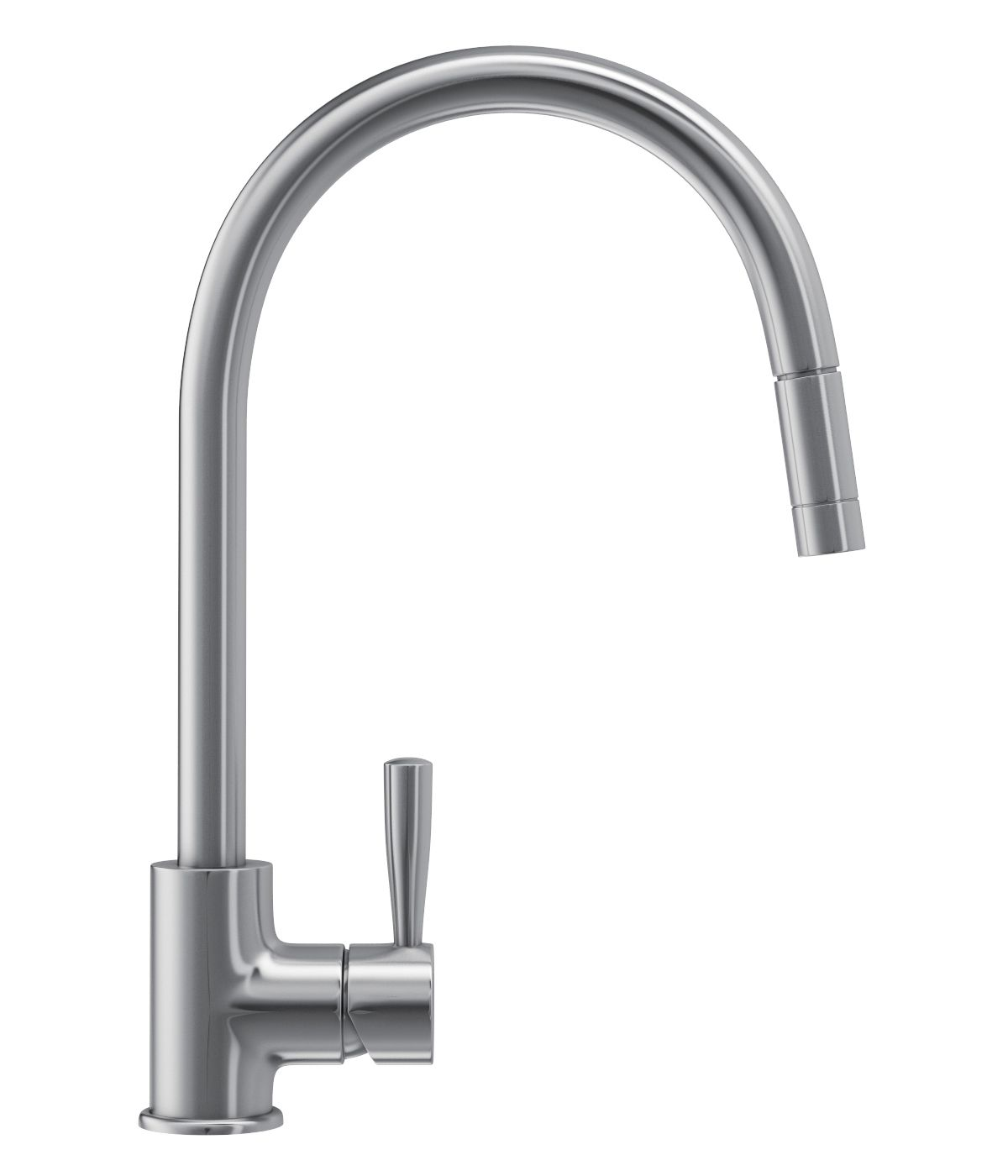 Franke Fuji Pull-Out Nozzle Kitchen Sink Mixer Tap SilkSteel ...