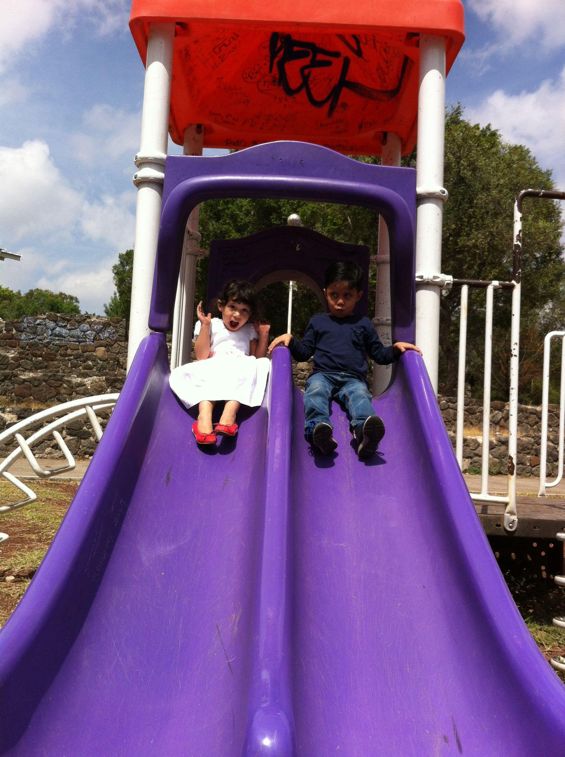 En el parque..