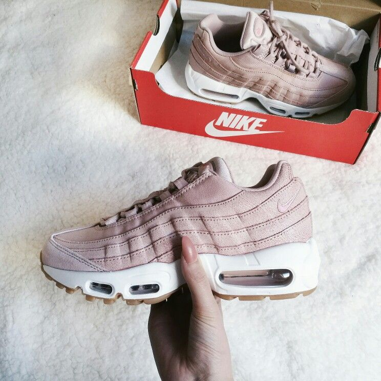 Nike Air max 95 Oxford Pink | Basket | Chaussure, Chaussures