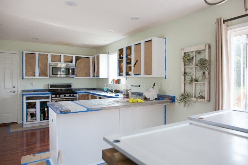 Here S What It Costs To Paint Kitchen Cabinets And To Have Them Painted By Someone Else Painting Kitchen Cabinets Cottage Kitchen Design Cost Of Kitchen Cabinets