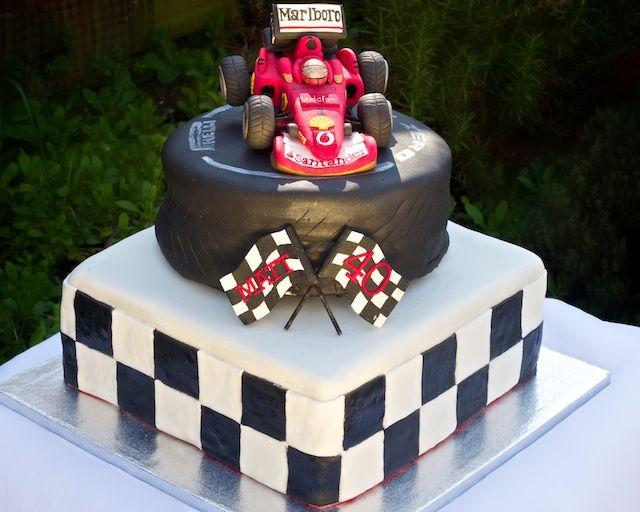 F1 Birthday Cake Racing Cake 40th Birthday Cakes Party