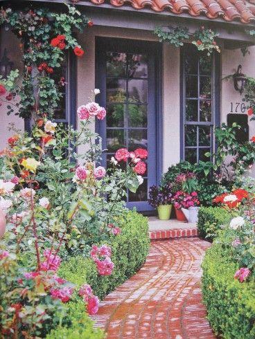 Pathway Flora Fauna Pinterest Porch Designs Small Gardens