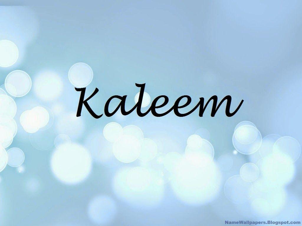 kaleem name