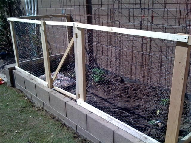 Wire Fences For Gardens