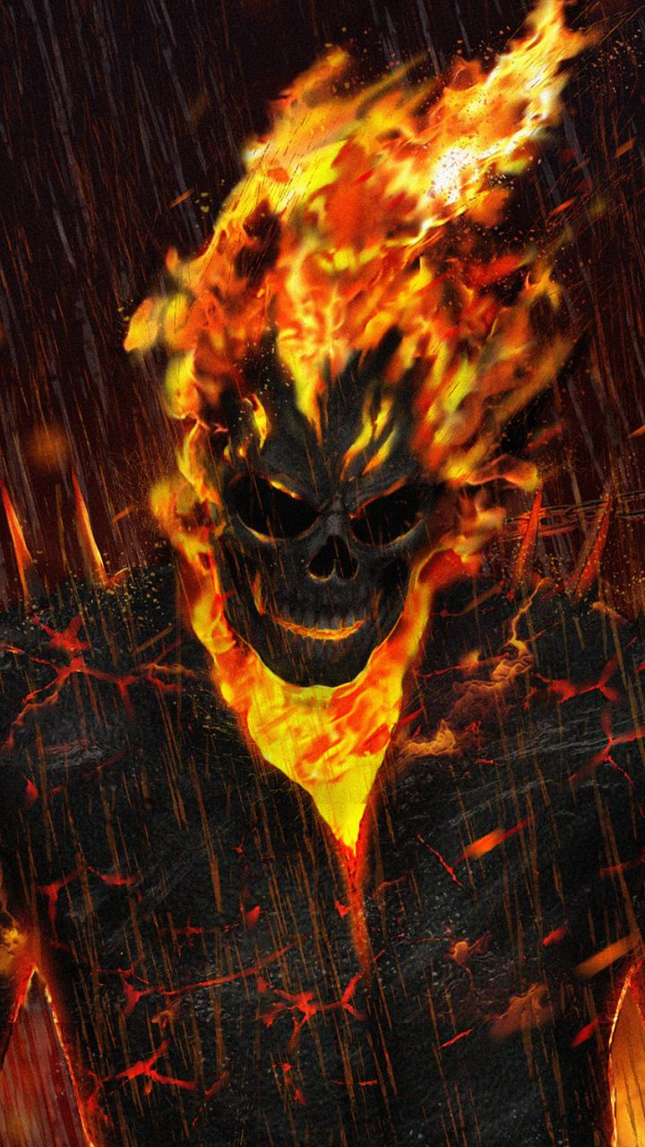 Ghost Rider Artwork Marvel 720x1280 Wallpaper Ghost Rider Wallpaper Ghost Rider Marvel Ghost Rider Ghost rider full hd wallpaper for mobile