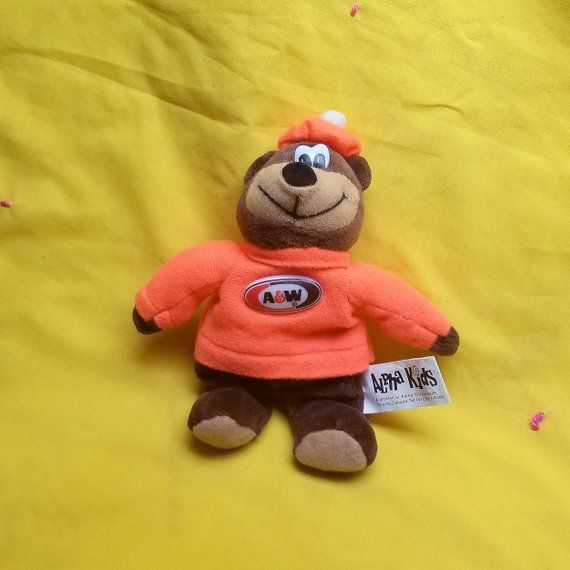 Fantastic Vintage Aw Root Beer Bear Bean Bag Collectible By Alpha Pdpeps Interior Chair Design Pdpepsorg