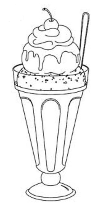 Sorbet Dibujos Y Moldes Food Coloring Pages Coloring Pages To