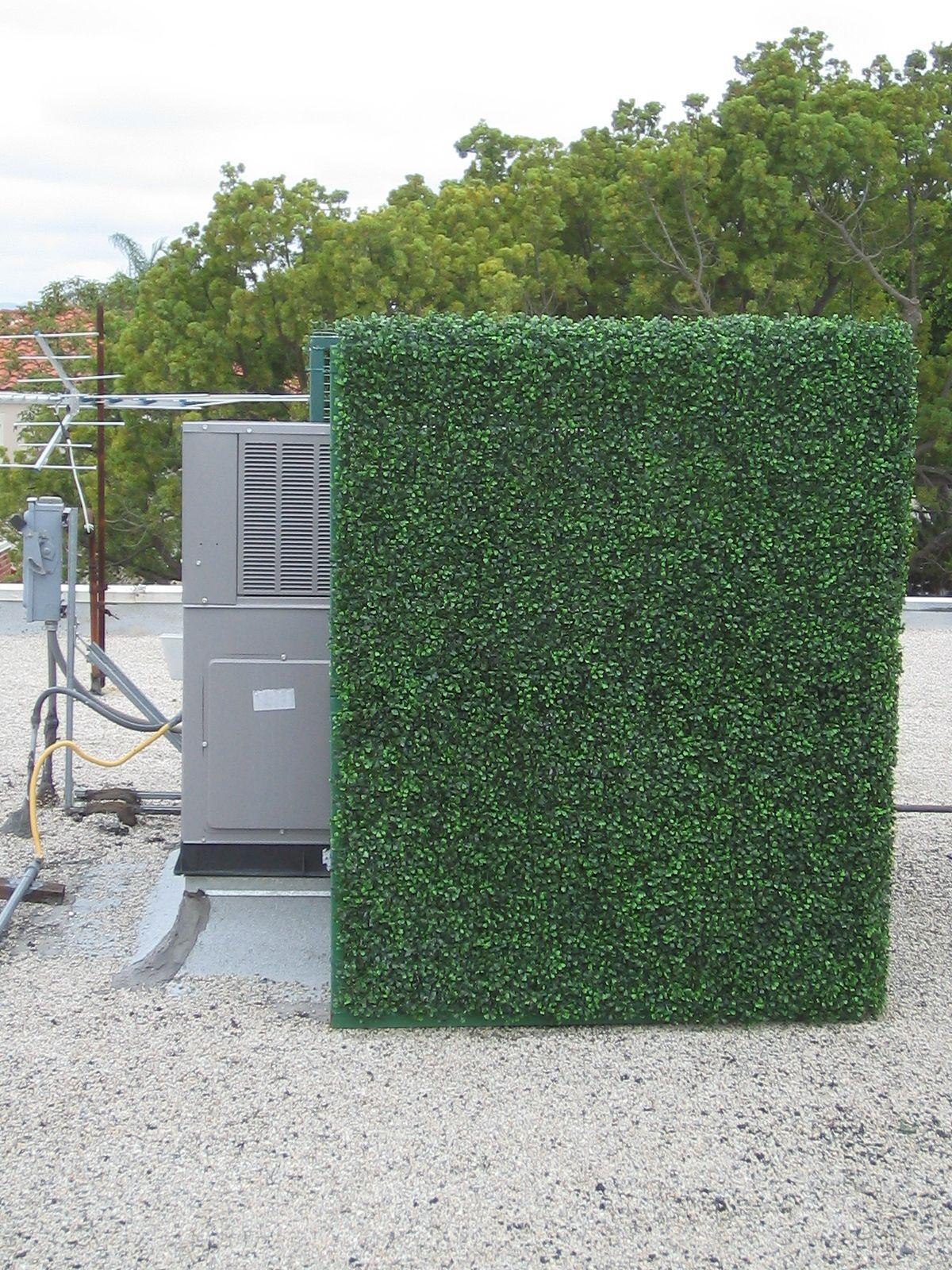 Concealing HVAC equipment on your rooftop has never been