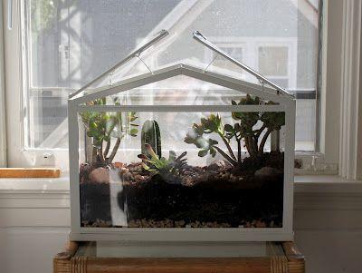 Terrarium Ikea Greenhouse Lieux Déco Jardin Jardins