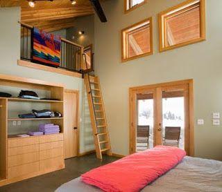 Fotos de escaleras escalera altillo barandas - Altillos en habitaciones ...