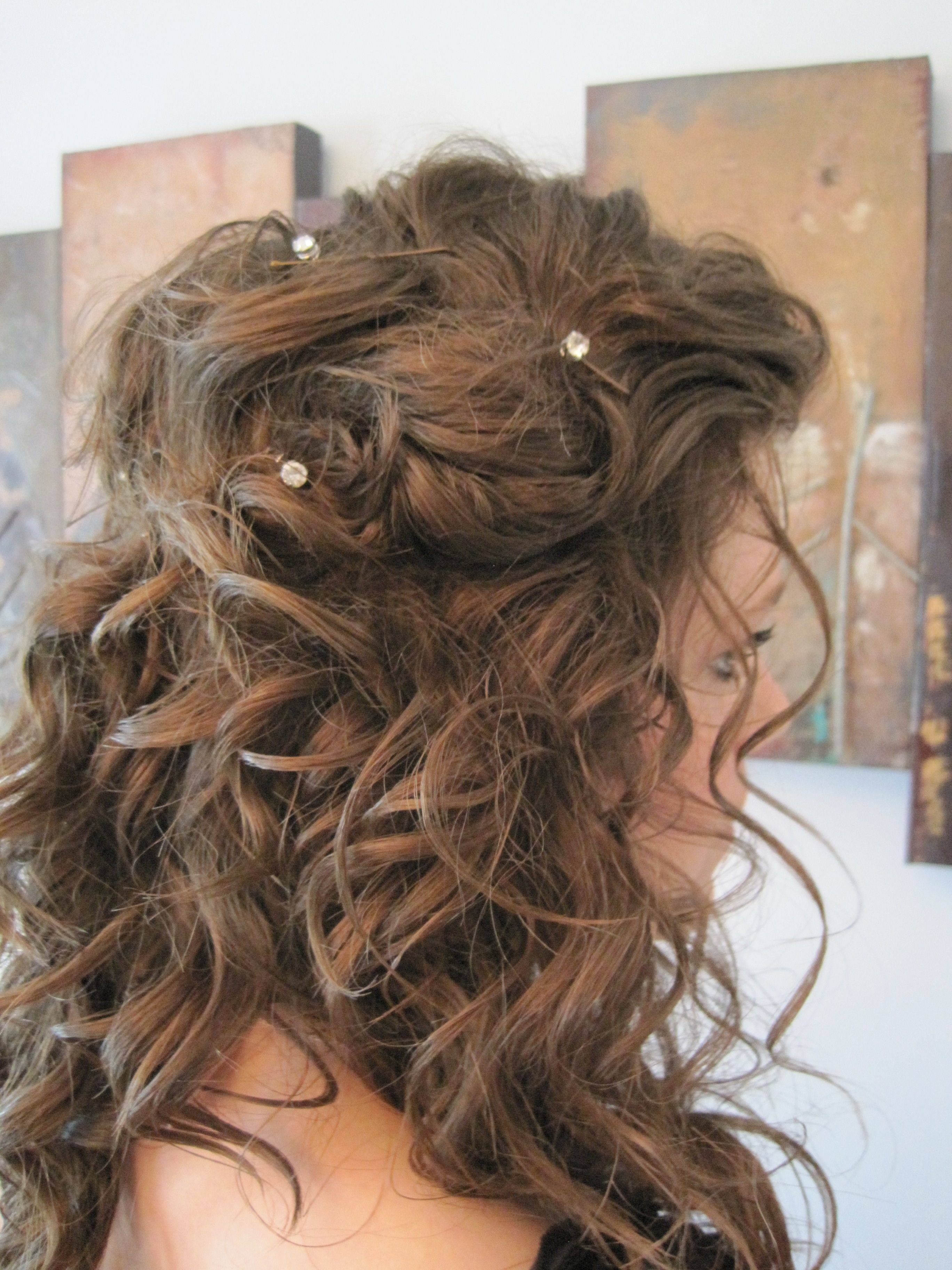 Do It Yourself Prom Hair So Easy And So Pretty Just Curl Your