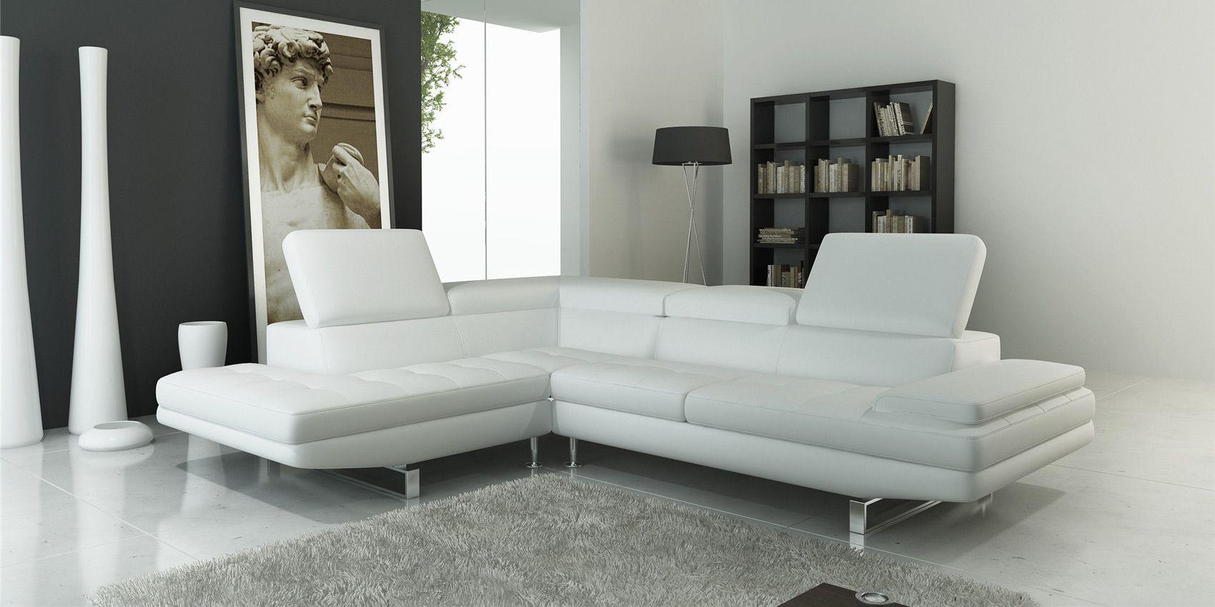 Billig Leder Ecksofa Weiss Ecksofas Sofa Sofa Bezug
