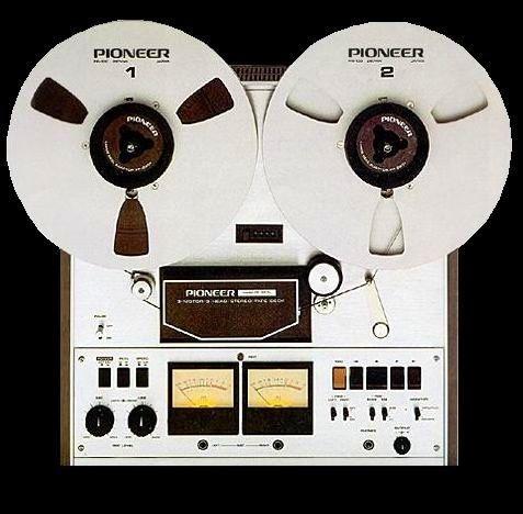 Pioneer RT1011L stereo reeltoreel tape recorder