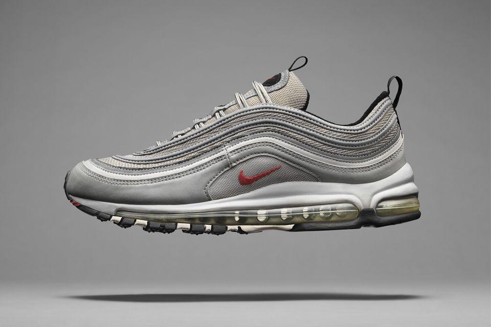 nike air max 97 hombre silver