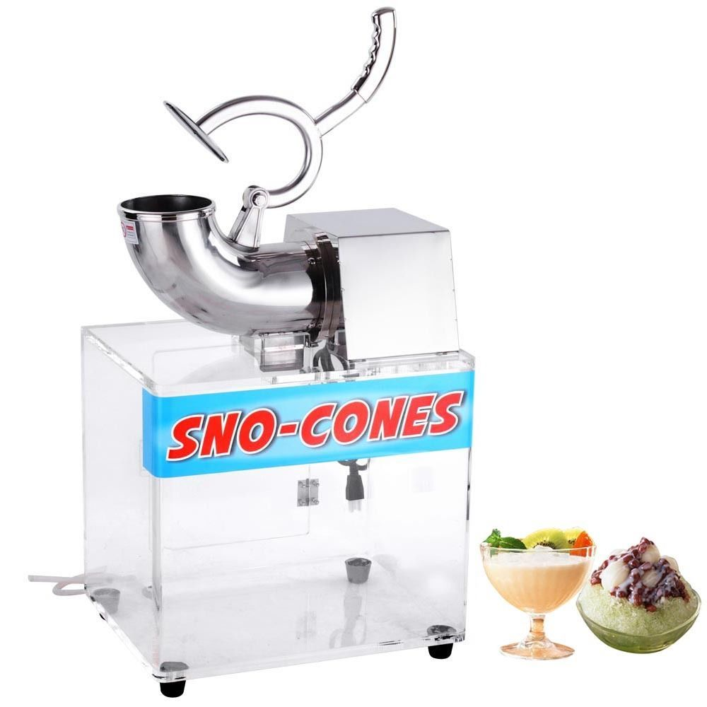 200w Sno Cone Machine Shaved Ice Maker Crusher Hawaiian Duty Electrics Shaver Snow Cone Maker Snow Cone Machine Ice Shavers