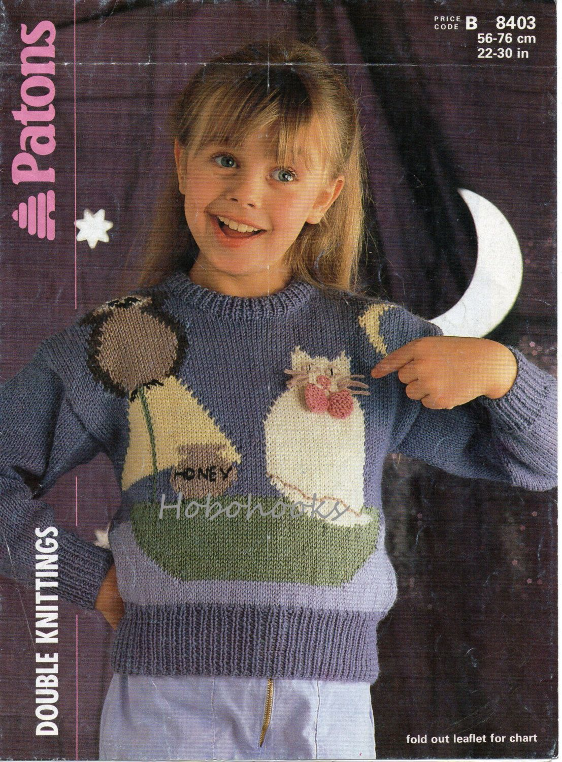 Childrens knitting pattern pdf download childrens owl pussy cat 8403 patons knitting pattern childs intarsia jumper the owl the pussy cat dk bankloansurffo Gallery