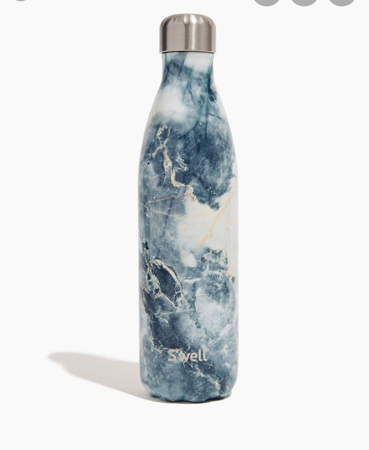 S Well Water Bottle Blue Marble 17 Fl Oz Bottle Water Bottle Swell Bottle
