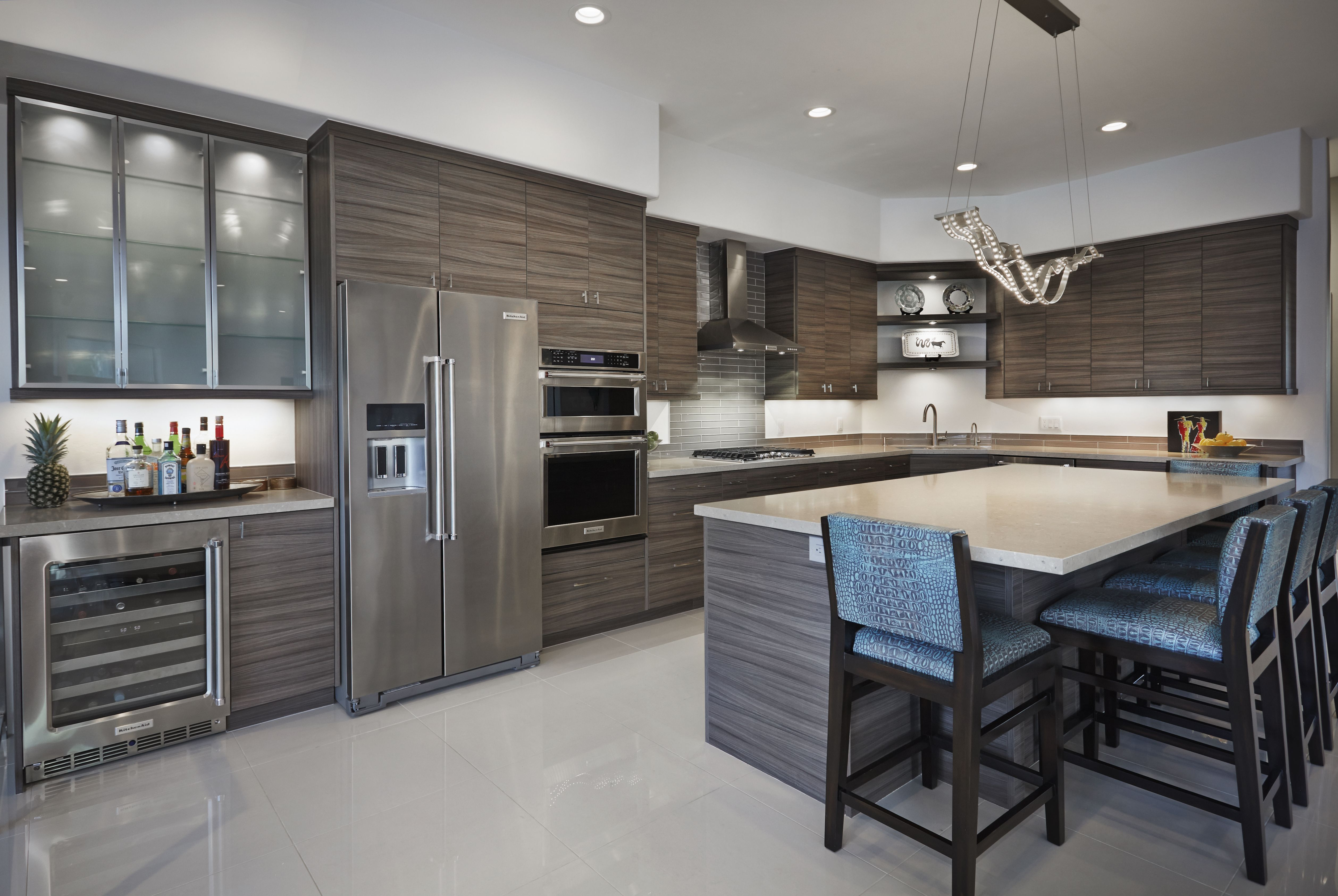 Best Desert Modern Kitchen Cabinetry A Recent Remodel Project 400 x 300