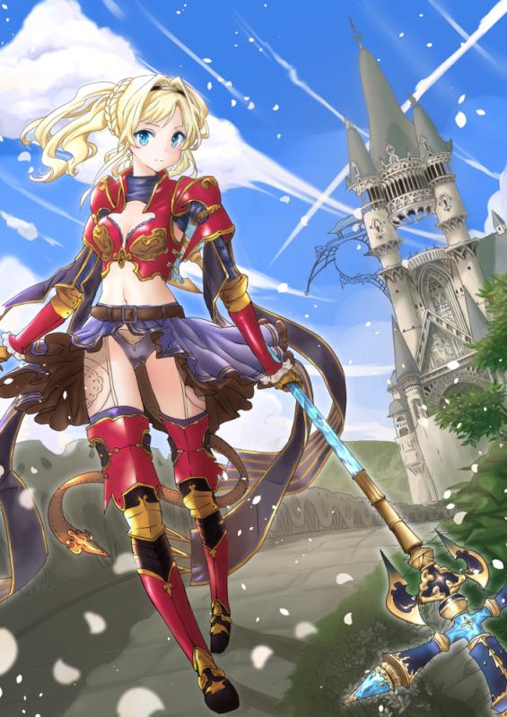 Granblue Fantasy Anime Granbluefantasy Zeta Granbluefantasy Fantasy Girl Anime Zelda Characters