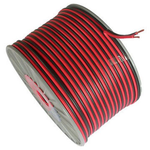 100m 2 Core Red Black 12v 12 Volt 20 Amp Heavy Duty Car Auto Or Speaker Cable Speaker Cable Speaker Wire Black Speaker