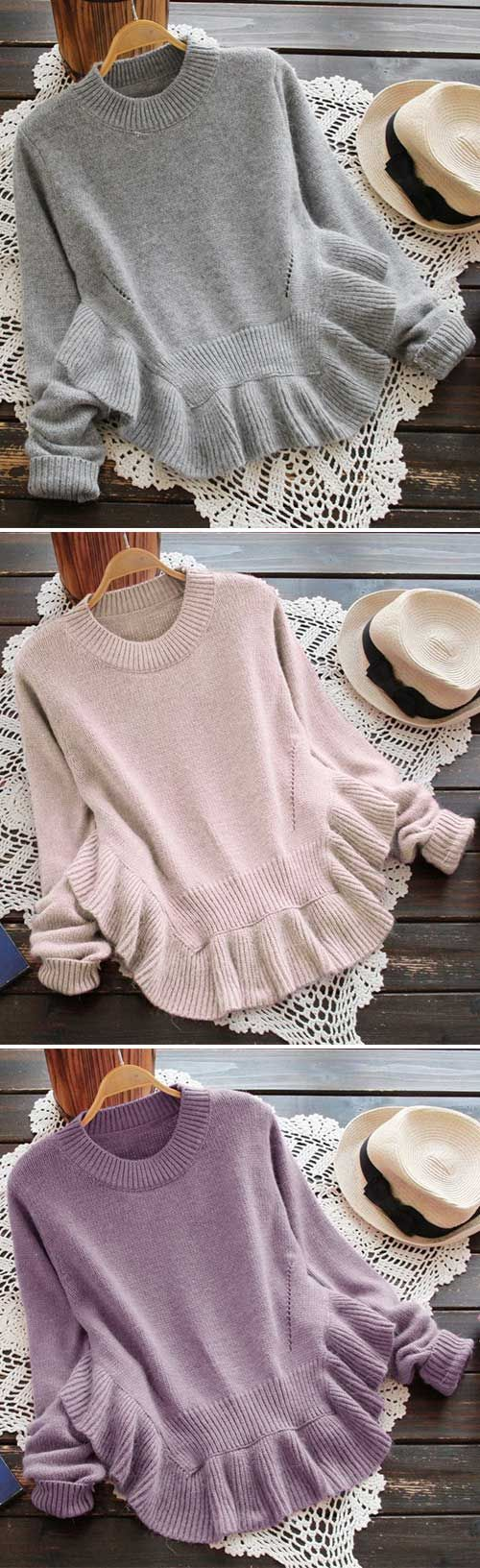 Find The Spark Falbala Sweater | Feelings, 21st and Clothes