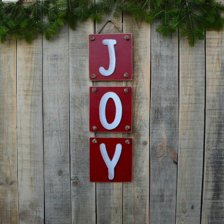 Excited to share the latest addition to my #etsy shop: JOY wooden ...