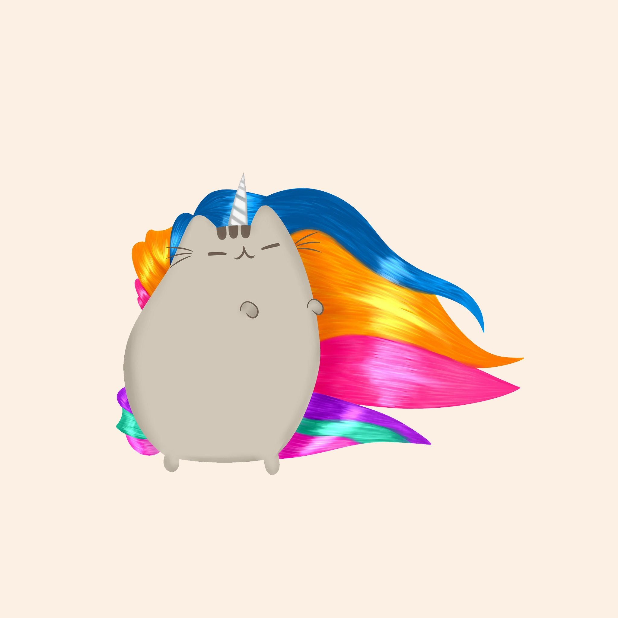 This the Beautiful pusheen the Unicorn Bow down! To her