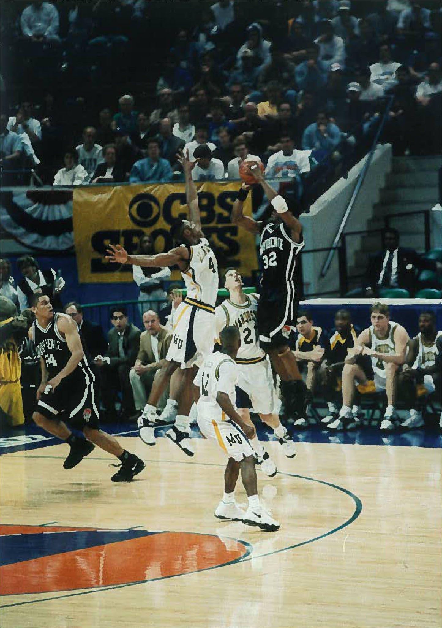 Derek Brown Basketball court, Derek, Friar