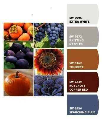 Paint colors from Chip It by SherwinWilliams  Fall produce Paint colors from Chip It by SherwinWilliams Fall produce Paint colors from Chip It by SherwinWilliams  Fall pr...
