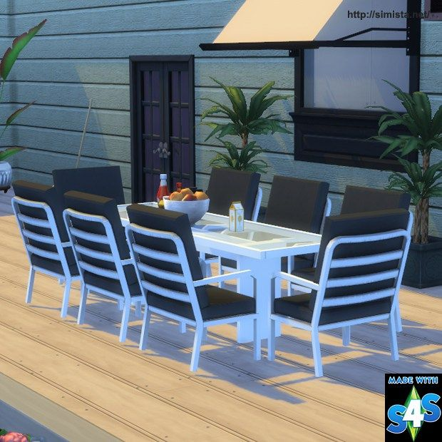 Sims 4 Shinokcr S4 Elegant Bathroom Hutch: The Best: Outdoor Living And Dining Set By